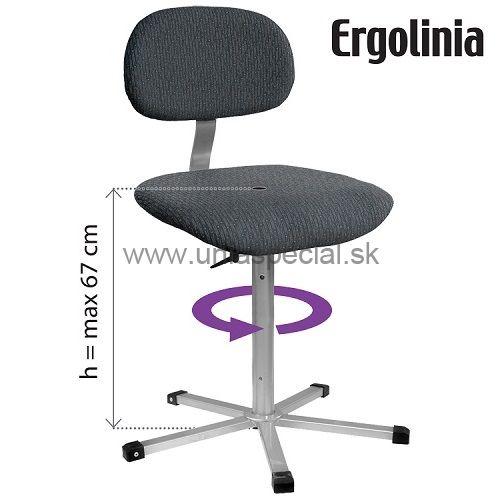 a3654318f993 Pracovná stolička Ergolinia 10002