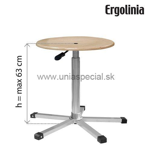 dea520ac3d62 Pracovná stolička Ergolinia EVO3
